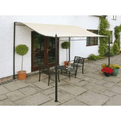 Gablemere Easy Fit Wall Mounted Gazebo