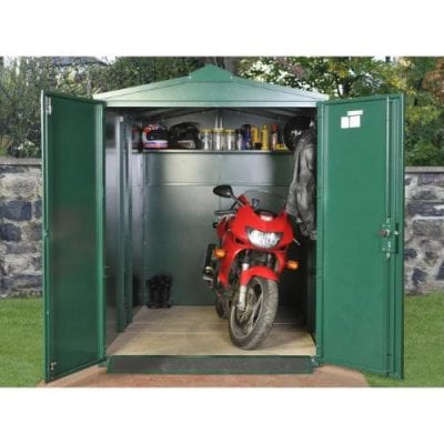 Asgard Motorcycle Storage Shed 9ft x 5ft 2″