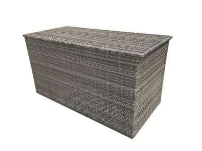 Signature Weave New Cushion Box in 8mm Grey Weave