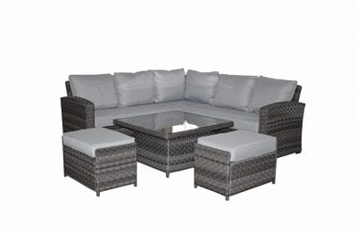 Signature Weave Grace Corner Dining Set With Lift Table