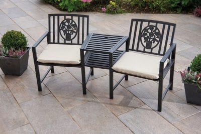 Gablemere Coalbrookdale Duo Bench & Table