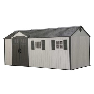 Lifetime New Edition 17.5 x 8 Dual Entrance Shed