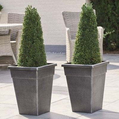 Gablemere Pk 2 Harlow Tall Planters