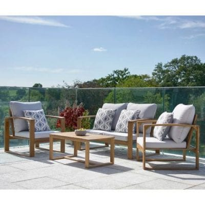 Gablemere 4 Pce Rochester Sofa Set with 180gm Cushions