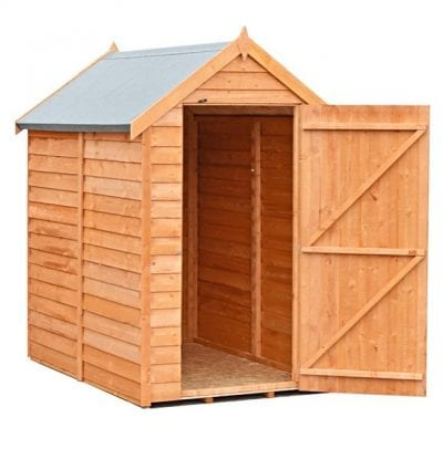 Shire 6 x 4 Value Overlap Apex Shed