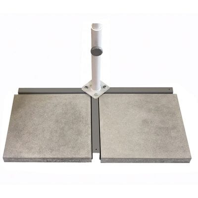 Glatz Flex Roof Cross Base with support tube/15 kg weight for cross base (2 needed per frame)