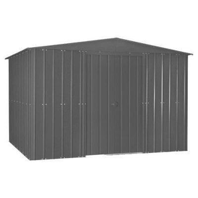 Lotus Apex Roof Shed 10 x 12 Anthracite Grey