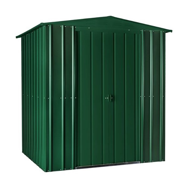 Lotus Apex Roof Shed 6 x 4 Heritage Green