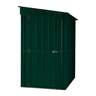 Lotus Lean-to Shed 4 x 8 Heritage Green