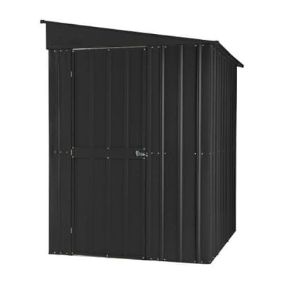 Lotus Lean-to Shed 5 x 8 Anthracite Grey