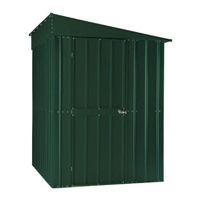 Lotus Lean-to Shed 5 x 8 Heritage Green