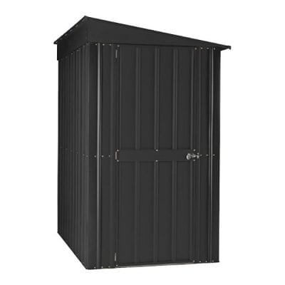 Lotus Lean-to Shed 4 x 8 Anthracite Grey