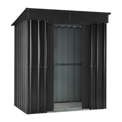Lotus Pent Roof Shed 6 x 3 Anthracite Grey