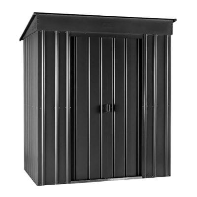 Lotus Pent Roof Shed 8 x 4 Anthracite Grey