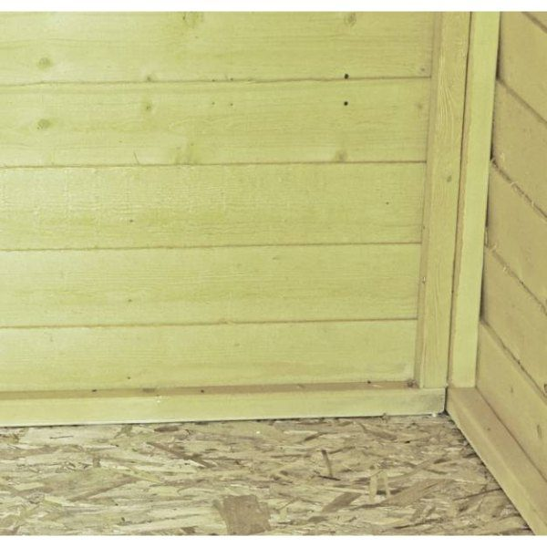 Shire 8 x 6 Overlap Pressure Treated Shed