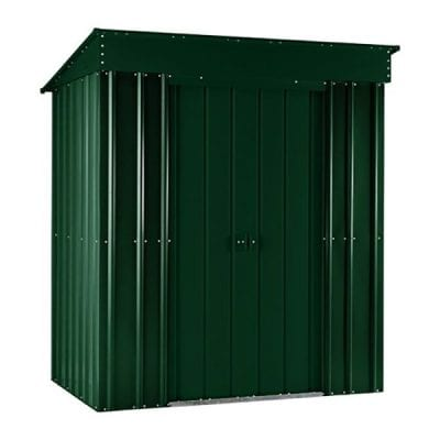 Lotus Pent Roof Shed 5 x 3 Heritage Green