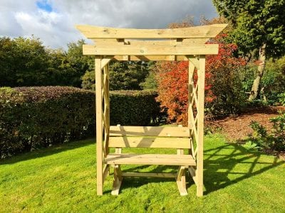 Churnet Valley Tokyo Arch 4ft with Ashcombe Bench