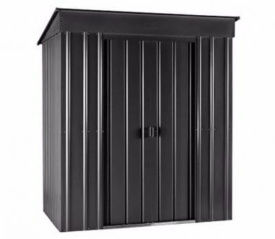 Lotus Low Pent Roof Shed 6 x 4 Anthracite Grey