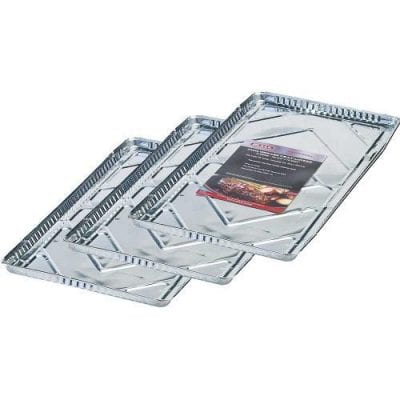 Bull Grills 60 cm Grill Grease Foil Tray Liners (pack of 3)