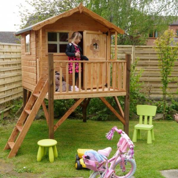Mercia Tulip Playhouse with Tower