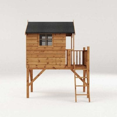 Mercia Poppy Playhouse with Tower
