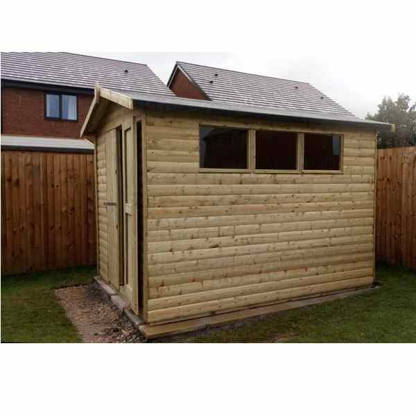 Churnet Valley 10×8 Apex Shed