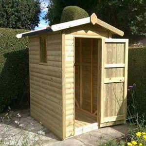 Churnet Valley 6×4 Apex Shed