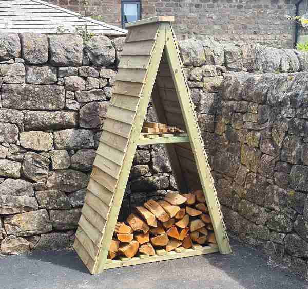 Churnet Valley Triangle Log Store